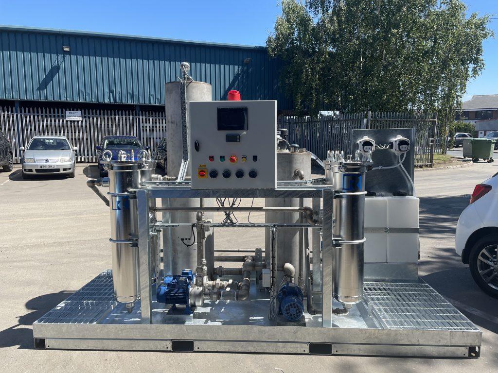 Effluent Treatment Station Bespoke fluid filtration rosedale products europe