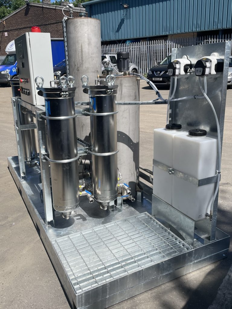 Effluent treatment system filtration rosedale product europe right