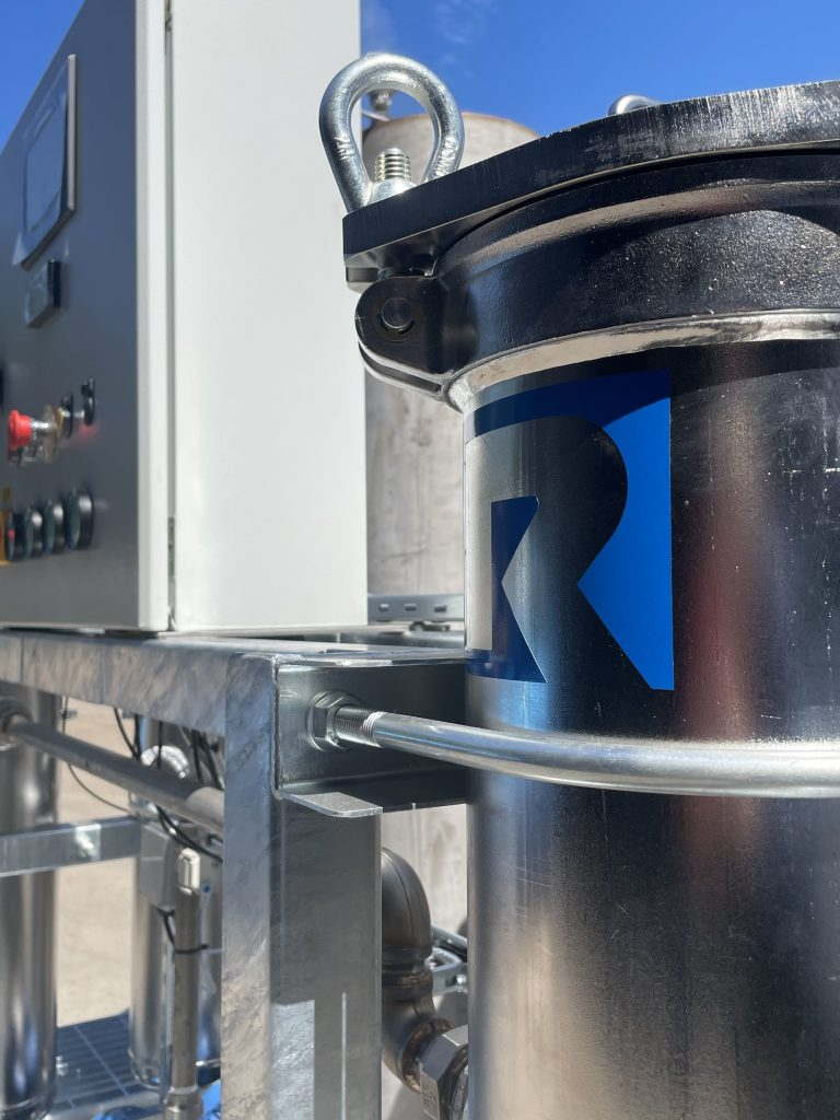 Effluent treatment system filtration rosedale product europe